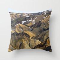 ICELAND II Throw Pillow