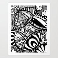 In The Tangle Art Print