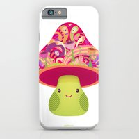 iPhone & iPod Case featuring Mrs. Shroom by Piktorama