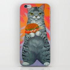 FISH BURGER iPhone & iPod Skin