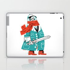 Creepy Scarf Guy Laptop & iPad Skin
