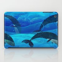 Tropical waters iPad Case