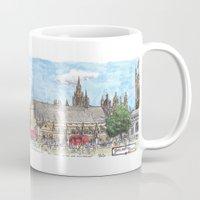 parliament square, london Mug