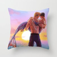William And Theodore 21 Throw Pillow