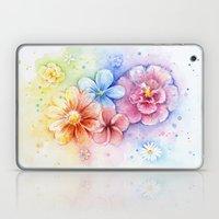 Flowers Watercolor Flora… Laptop & iPad Skin