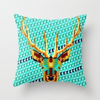 Bambi Stardust Throw Pillow