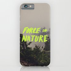 Force of Nature x Cloud Forest Slim Case iPhone 6s