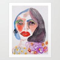 Cameo #11 Art Print