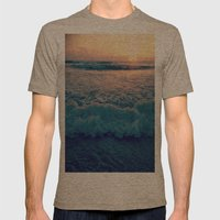 Favorite Sunrise  Mens Fitted Tee Tri-Coffee SMALL