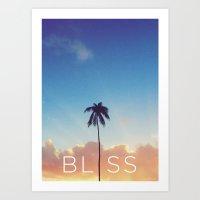 Palm Tree Bliss Art Print