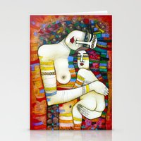 MADONE (hommage to Klimt) Stationery Cards