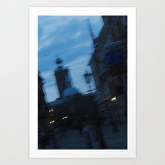 Silent Parade. Art Print