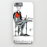 A Few Parisians: Beaubourg by David Cessac iPhone 6 Slim Case
