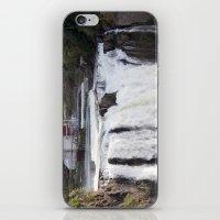 When Will It Fall? iPhone & iPod Skin