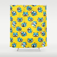 Wrestling Academy Patter… Shower Curtain