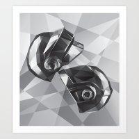 Daft Punk Art Print