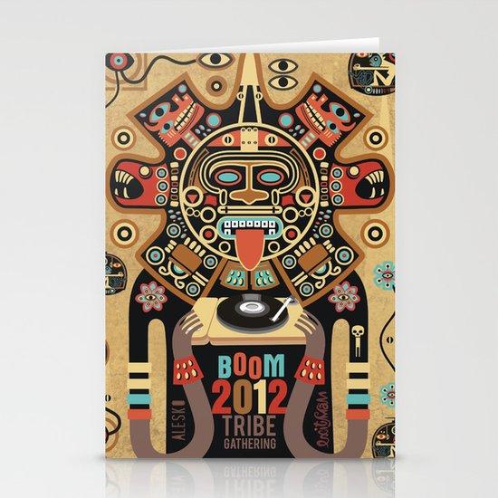 Mayas Spirit - Boom 2012 Stationery Card