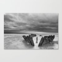 The SS Nornen Canvas Print