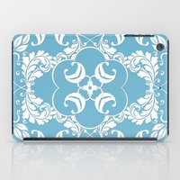 Blue Leaf Lace  iPad Case
