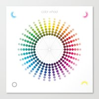 Color Wheel Canvas Print