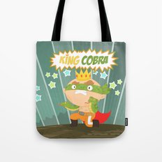 the ruthless kingcobra Tote Bag