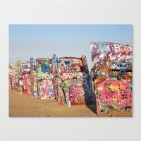 Amarillo Cadillac Ranch … Canvas Print