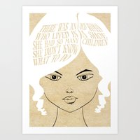 So Many Children - Lessons From Mother Goose Series Art Print