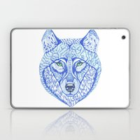 Ice Wolf Laptop & iPad Skin