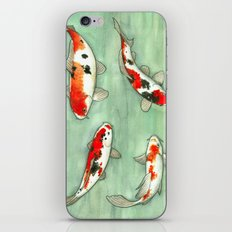 La Ronde Des Carpes Koï iPhone & iPod Skin