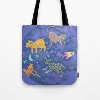Astrocats Tote Bag