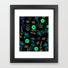 Flower Pattern XI Framed Art Print