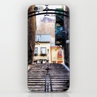 Old Quebec City iPhone & iPod Skin