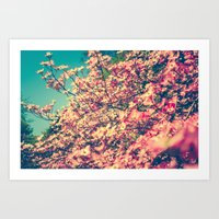 Her Favorite Color Was P… Art Print