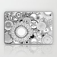 Floral Kaleidoscope  Laptop & iPad Skin