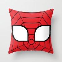 Adorable Spider Throw Pillow