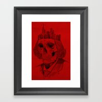 untouchable city Framed Art Print