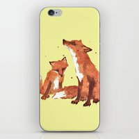 Lemon Foxes iPhone & iPod Skin