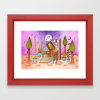 Dream House 1 Framed Art Print