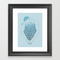 Chest Framed Art Print