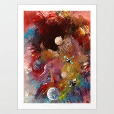 yeryüzünün dışında Art Print