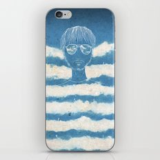 On the clouds iPhone & iPod Skin