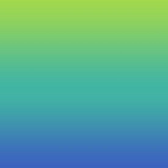 Green Gt Teal Gt Blue Fade Art Print By Natalie Sales