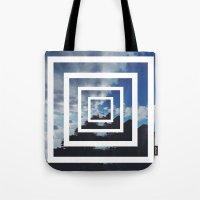 SKY ILLUSION Tote Bag