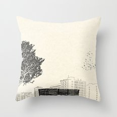 Tom's Favourite Spot — Angels Knoll Park, LA — (500) Days of Summer Throw Pillow