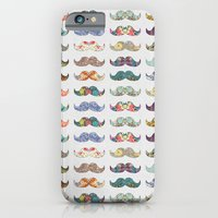 iPhone & iPod Case featuring Mustache Mania by Bianca Green