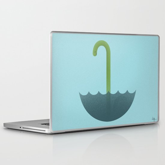 Looks like rain or monster Laptop & iPad Skin