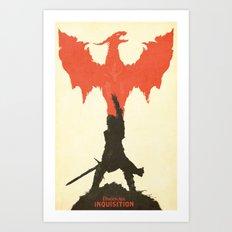 Dragon Age: Inquisition V1 Art Print