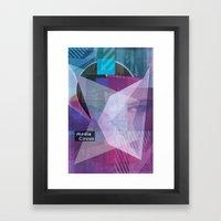 Media Circus Framed Art Print