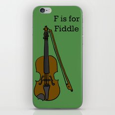 Fiddle, Typed iPhone & iPod Skin