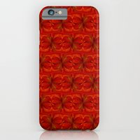 Orange Flower iPhone 6 Slim Case